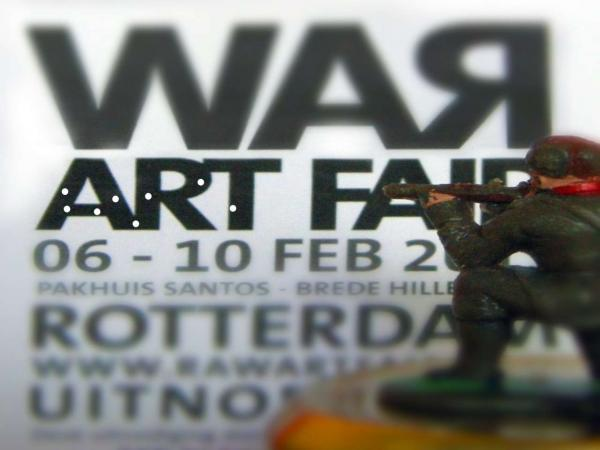 WAR, Raw Art Fair 2013